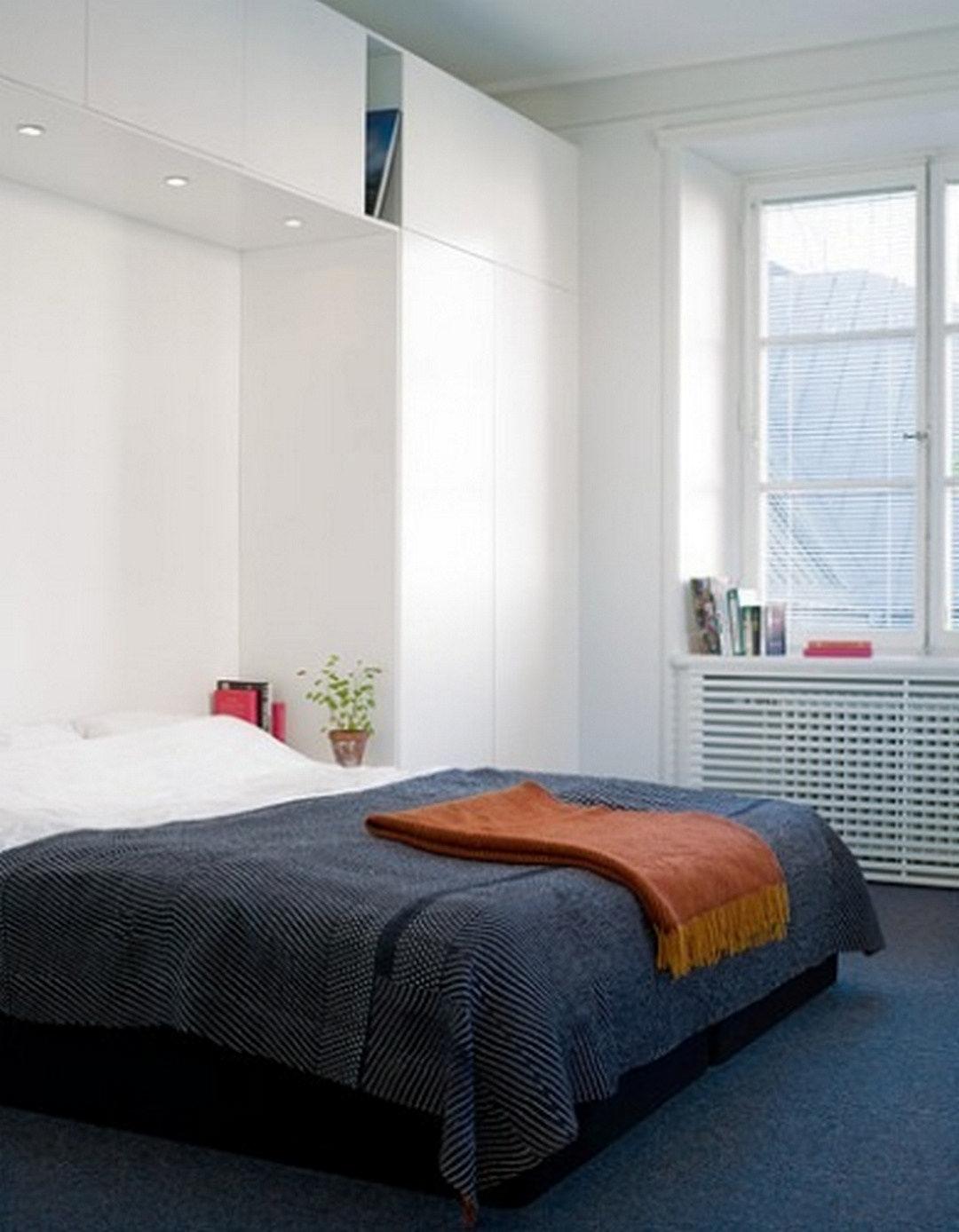 очень маленькая спальня 7 советов дизайнера кровать Pinterest