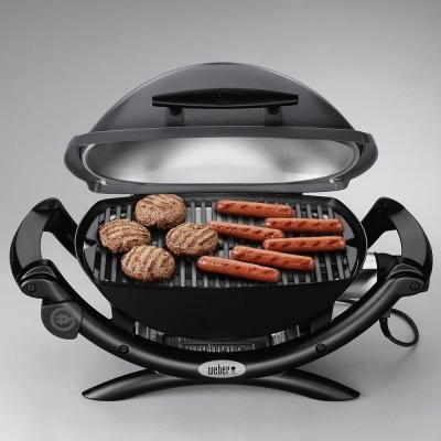 Weber Q 2400 1 Burner Portable Electric Grill In Gray 55020001