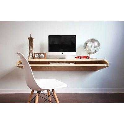 office floating desk small. Orange22 Minimal Small Floating Desk \u0026 Reviews | Wayfair Office R