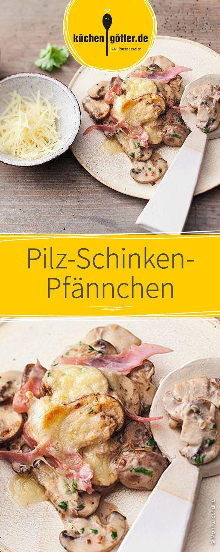 Pilz-Schinken-Pfännchen #racletteideen