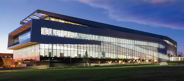 James B. Hunt Jr. Library New Landmark Libraries 2016