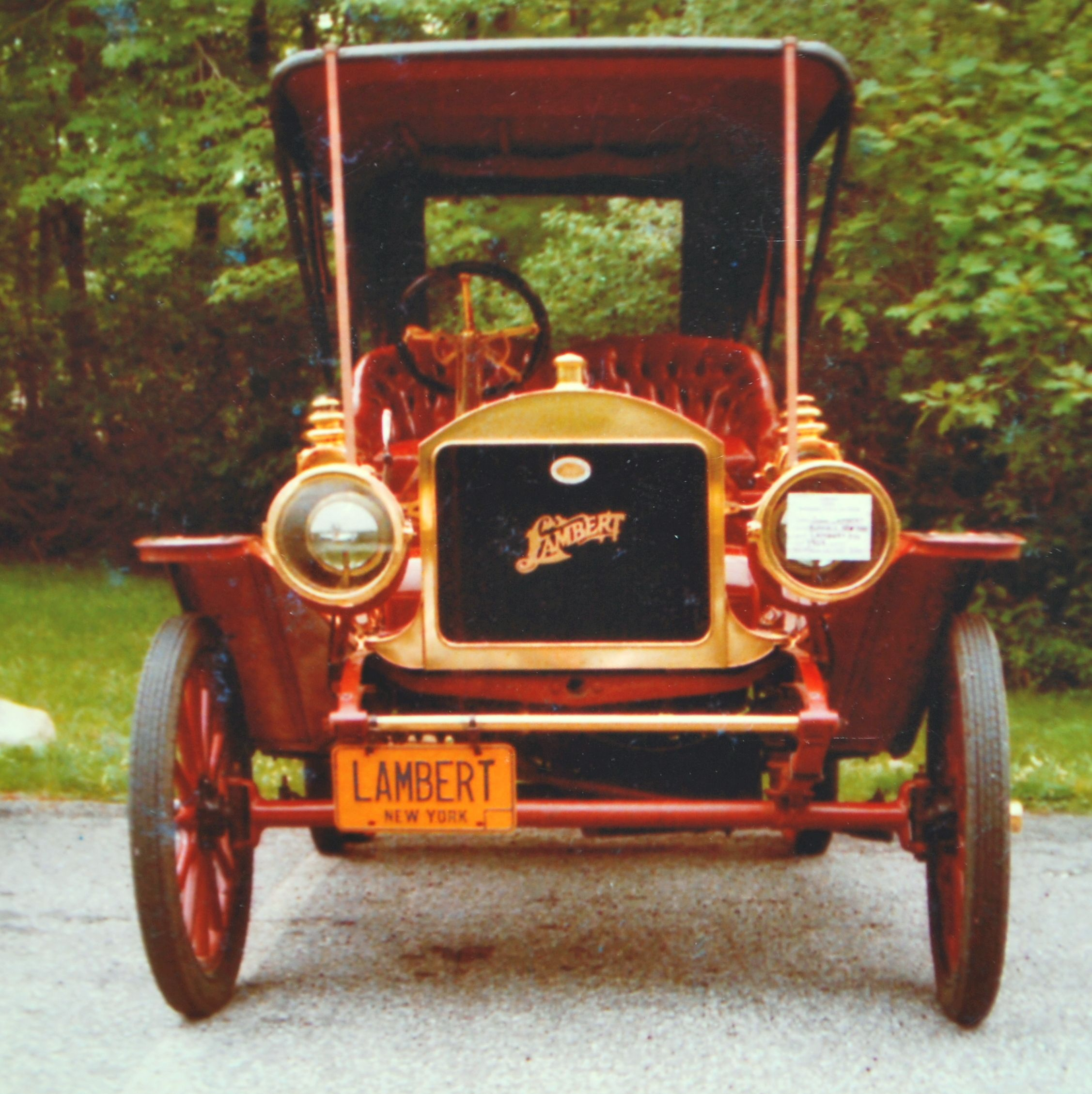 1909 Award Winning Lambert Antique Cars Antiques Vehicles