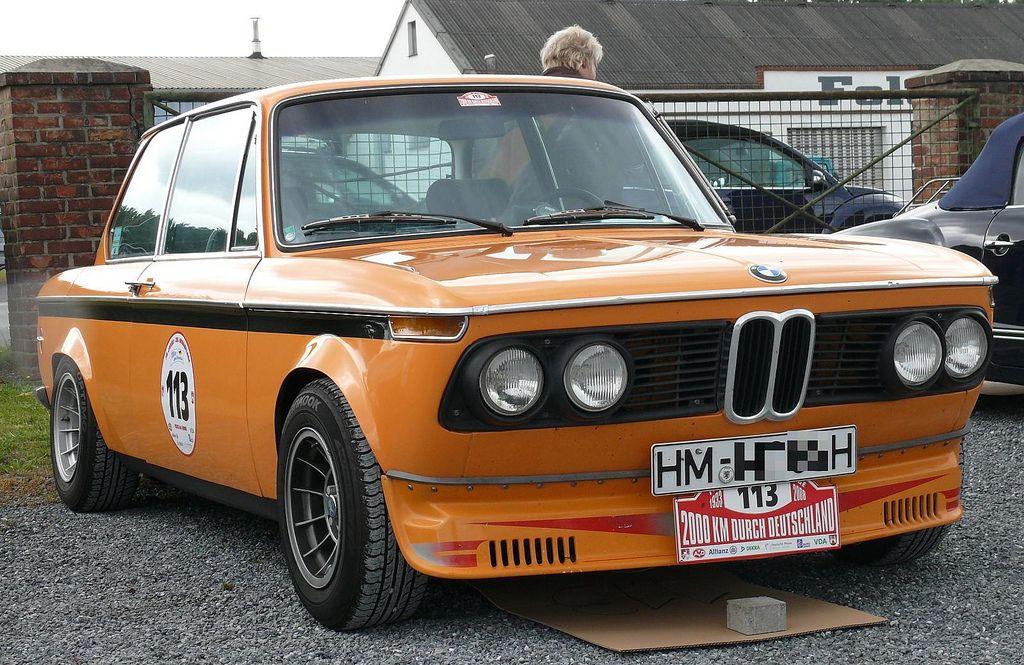 classic bmw alpina 2002 photos  BMW 2002 ti Alpina 1969 orange vr