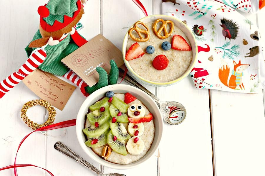 North Pole Breakfast Recipes | Christmas Porridge #northpolebreakfast