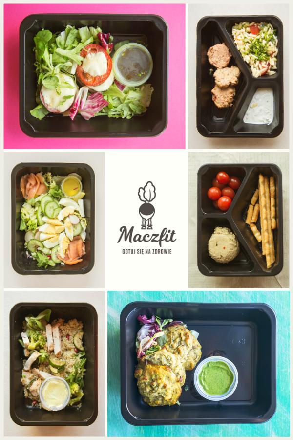Lunchbox Pomysl Na Obiad Lunch Maczfit Catering Zdrowe