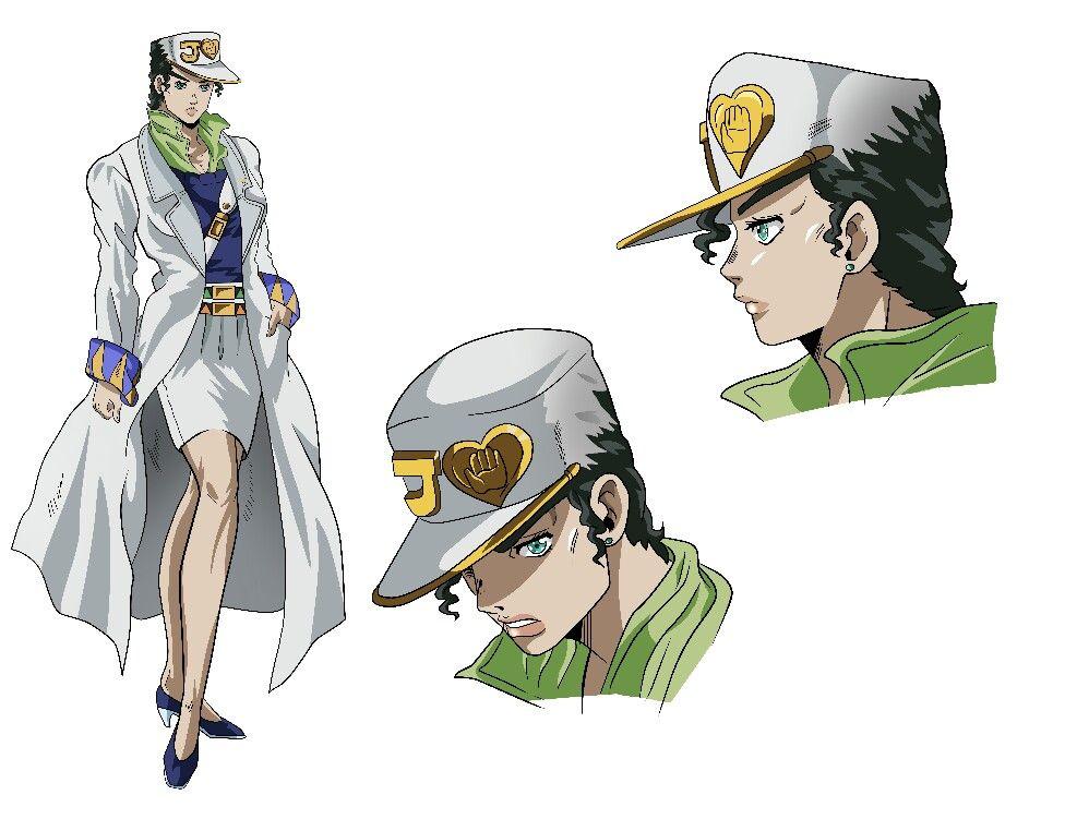 Jotaro Kujo Female Version Jojo Bizzare Adventure Jojo S Bizarre Adventure Anime Jojo Bizarre