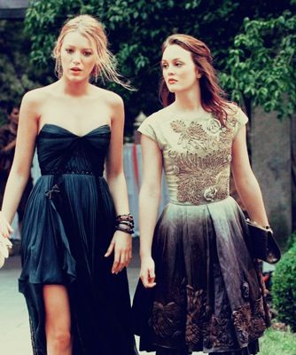 1e179b0d1 Serena and Blair. FilmeGossip GirlsEstilo ...