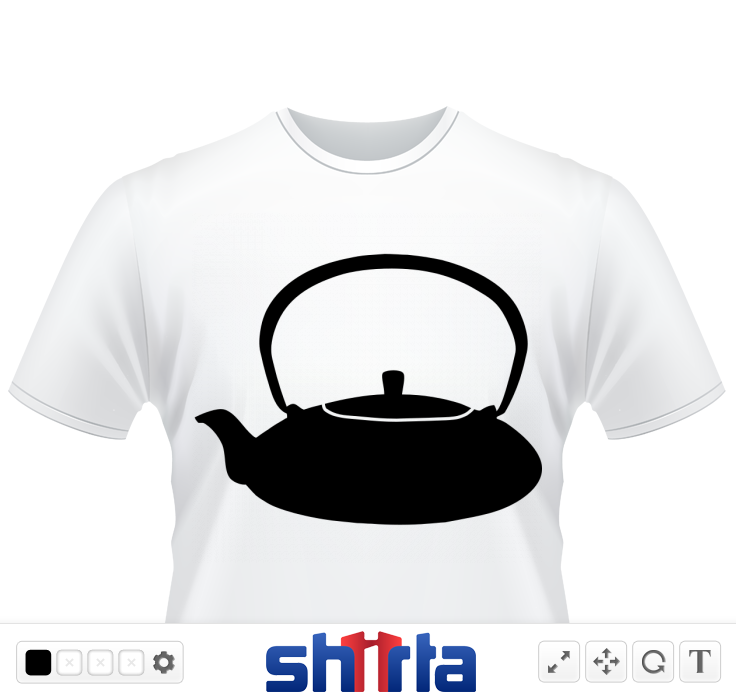 Teapot. Vector design - comes in any colour!