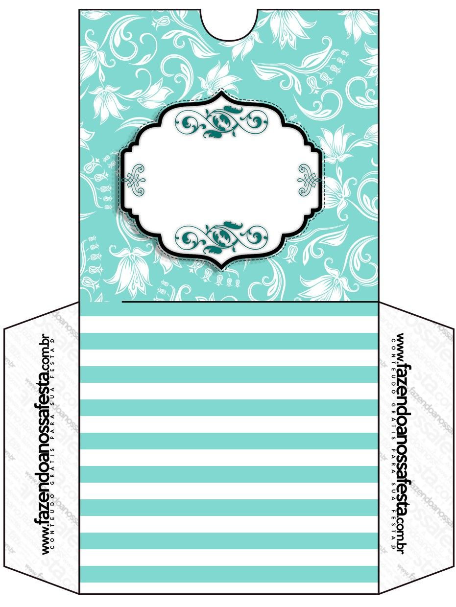 Well-known Kit Completo Azul Tiffany Floral e Listras! | Azul tiffany, Dvd e  TN76