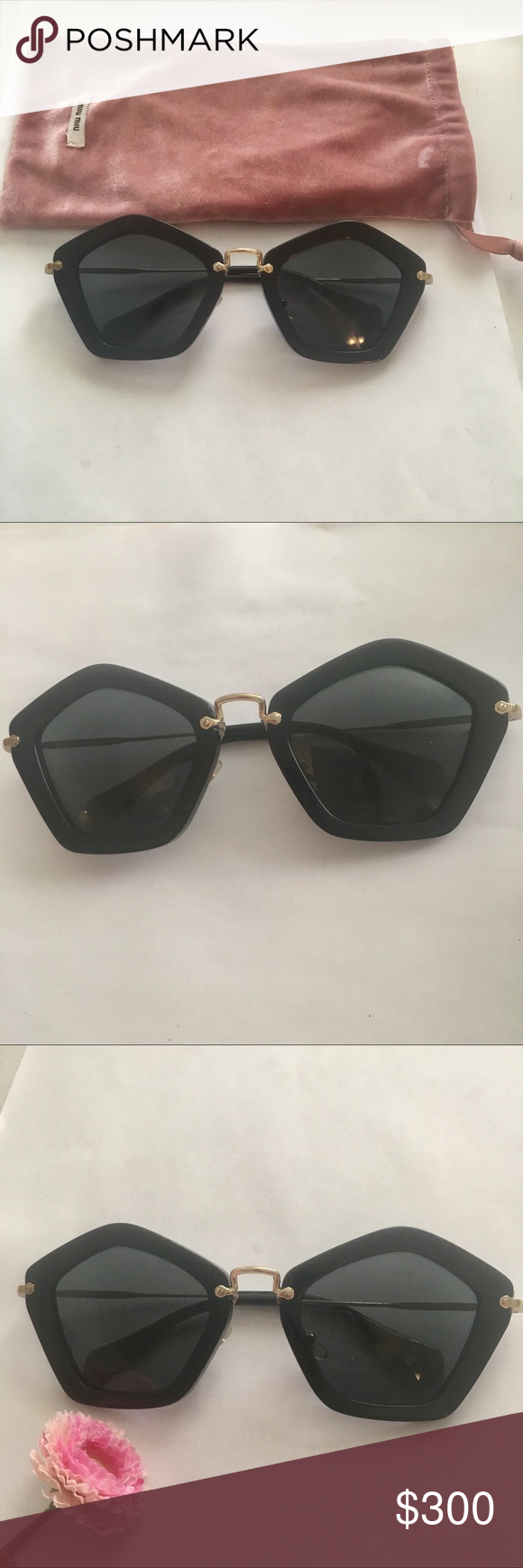 aa8145525f0f Miu miu 100% attentive sunglasses Mu mu authentic sunglasses no scratch Miu  Miu Accessories Sunglasses