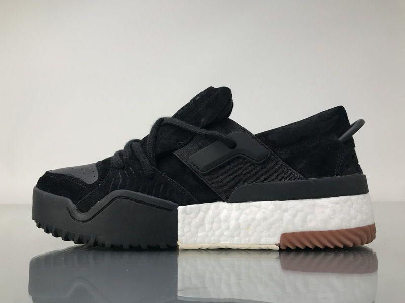 detailed look 2a765 35902 Adidas X Alexander Wang BBall Low AC6847 Black Clean Boost ...
