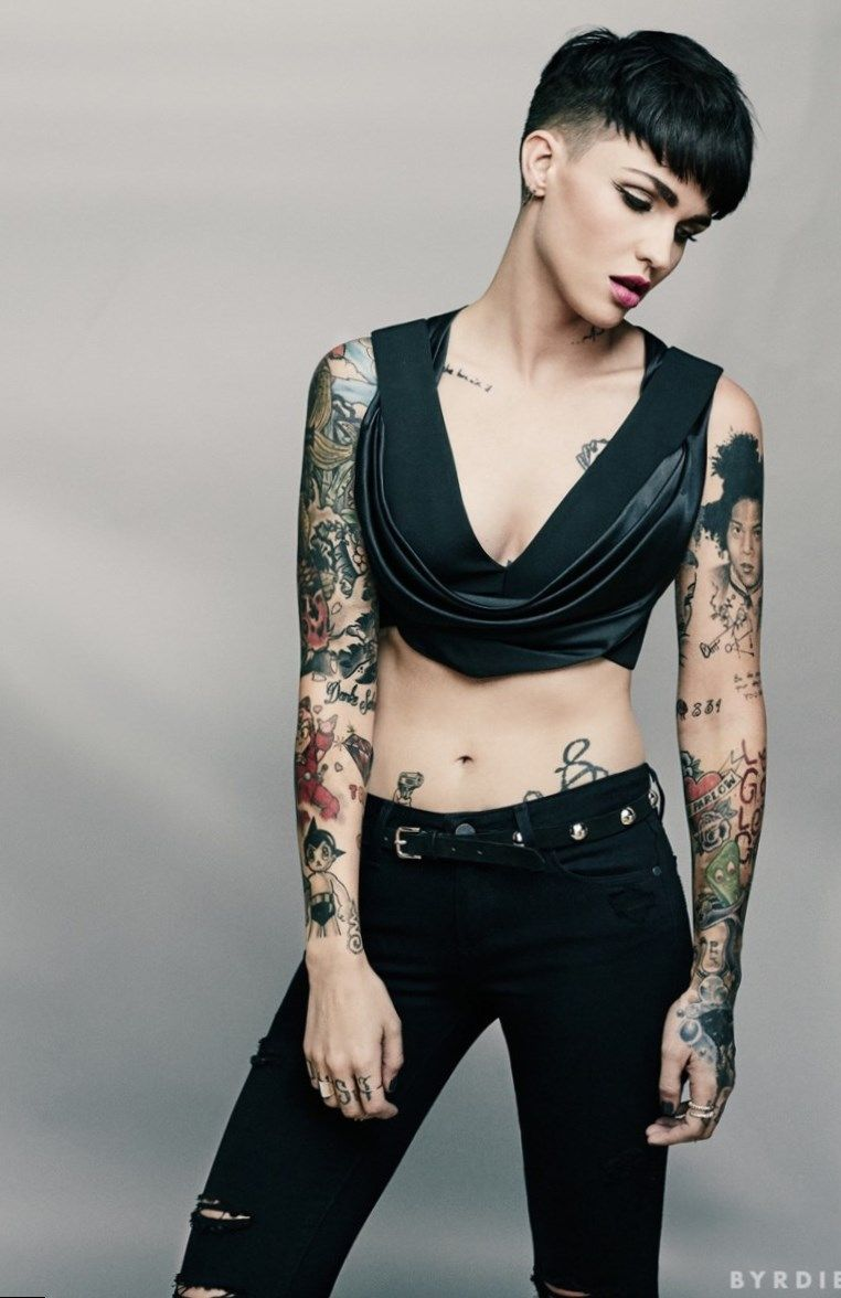 Celebrity Ruby Rose nude photos 2019