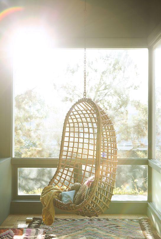 Summertime Style : Decorating With Rattan | Pinterest | Hängesessel,  Traumziele Und Trautes Heim
