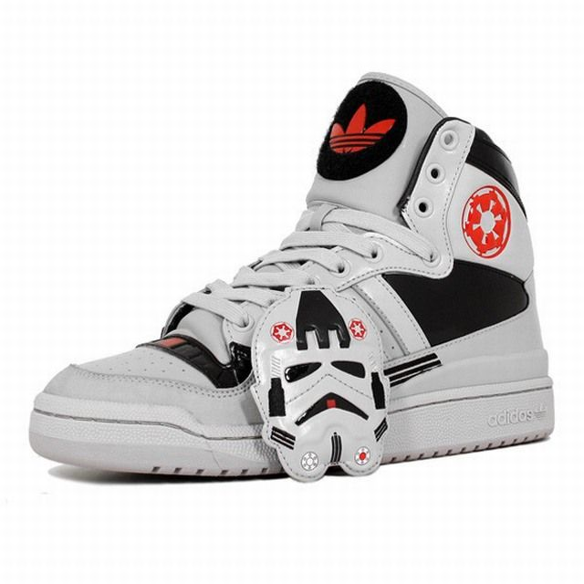 Adidas Originals Star Wars Stormtrooper Shoes Hi Tops