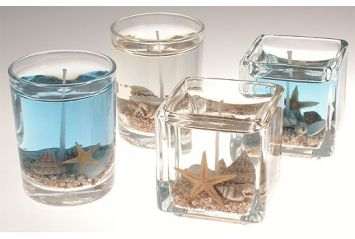 Beach Candle Favors $380