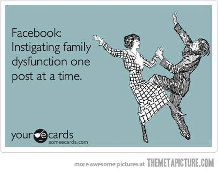 Facebook Instigating Family Dysfunction One Post At A Time Now