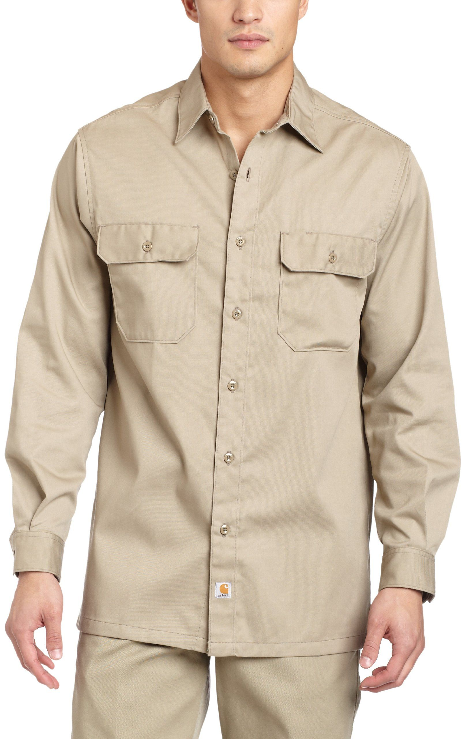 Mens Long Sleeve Shirt Button Up Down Canyon Creek Camping Fishing Outdoor NEW