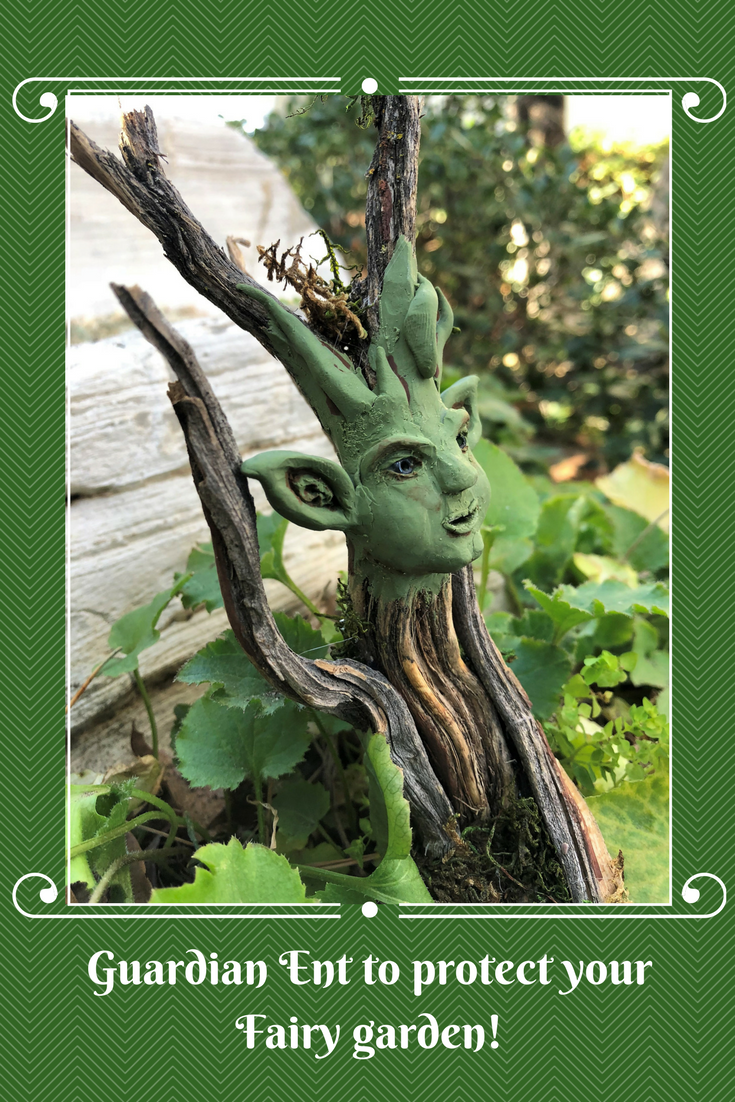 Ent, Garden Character, Garden Pick, Moss Fairy, Moss Angel