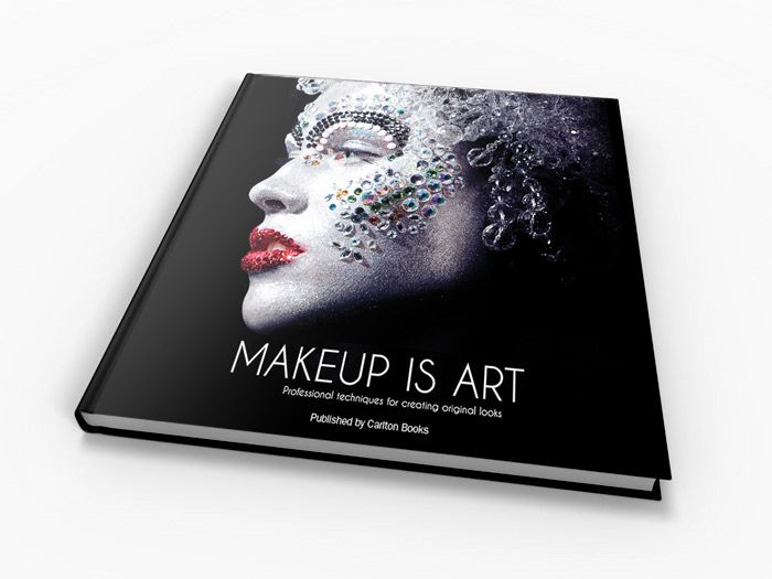 Makeup Is Art Great Book For Inspiration For Color And Texture Vision Board Visionen