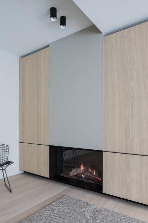 fireplace by juma architects and bosmans haarden fire wall fires rh pinterest com