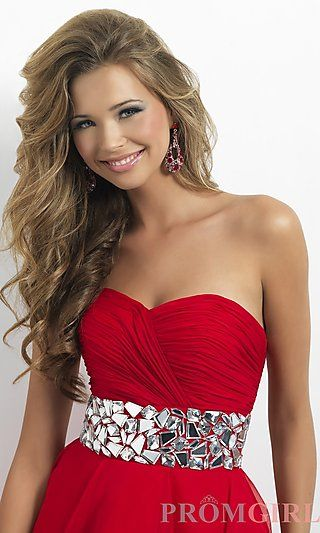 I dont like this prom dress but I love the hair | Beauty | Pinterest ...