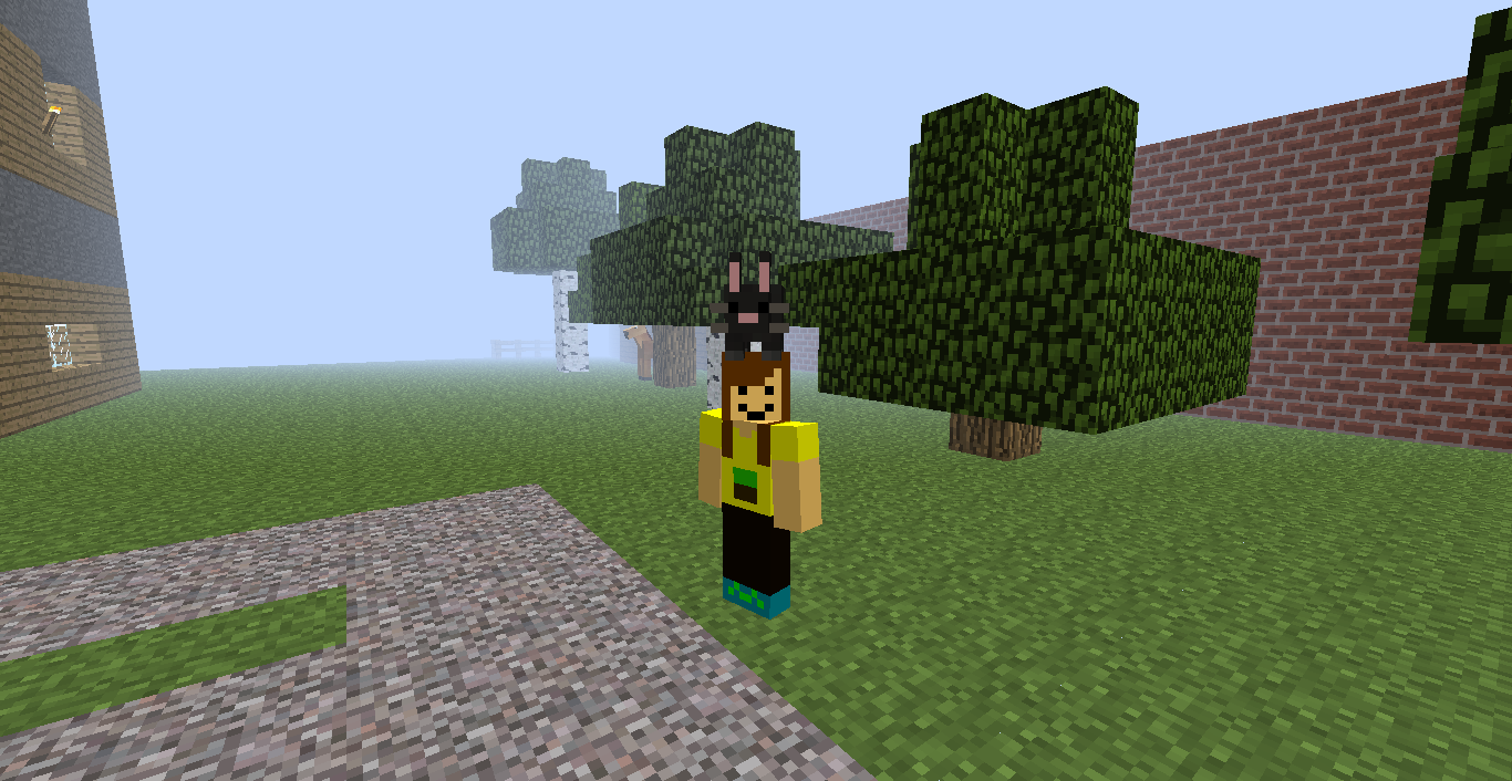 Mo Creatures Mod Bunny On My Head Minecraft Mods Minecraft