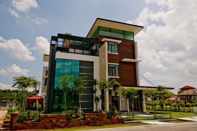 Love this house Arkitek Axis project in Kuala Lumpur Malaysia