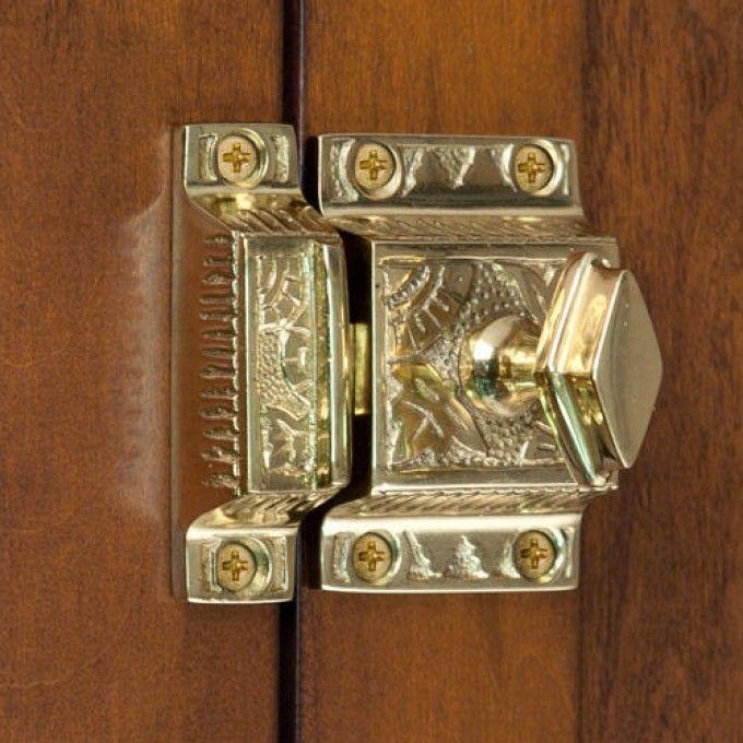 Fresh Polished Nickel Cabinet Latch