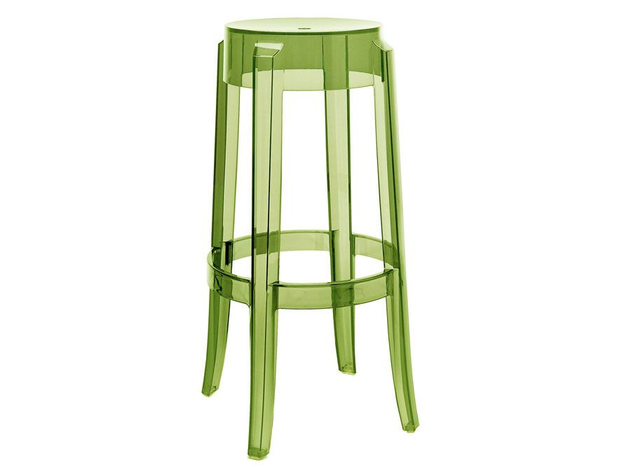 Kartell Charles Ghost Stool Philippe Starck Moderne Barkrukken Barkruk