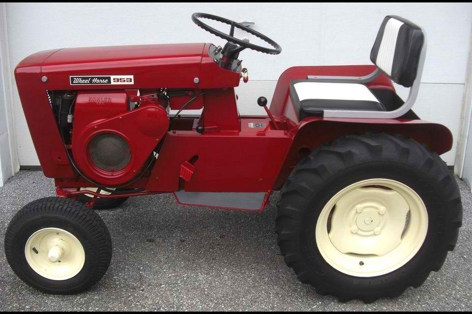 1963 Model 953 Wheel Horse Tractor Tractors Red Tractor