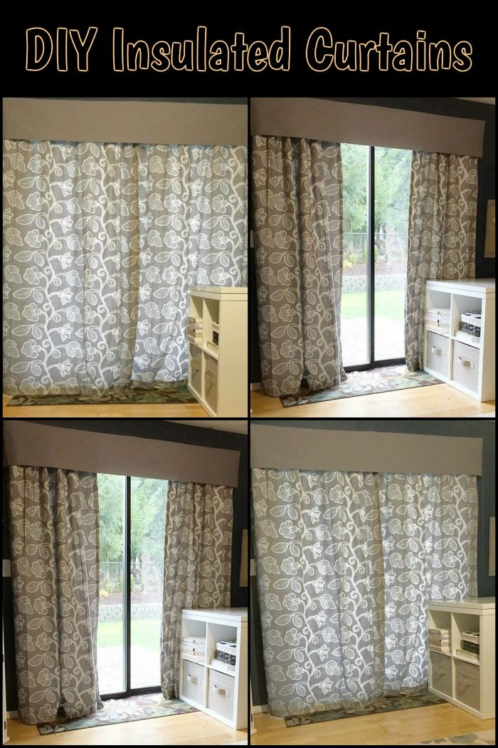 Keep Your Home Warm And Lower Energy Bill By Turning Curtains Into DIY Insulated