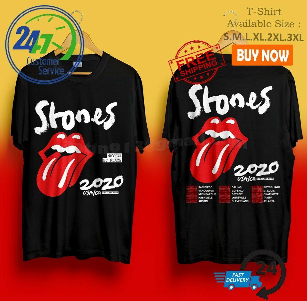 rolling stones t shirt 4xl
