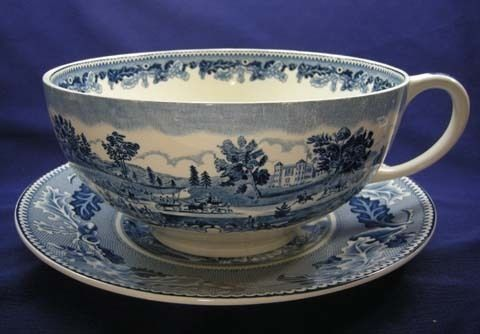 HISTORIC AMERICA GRAND DRIVE CENTRAL PARK CUP & SAUCER