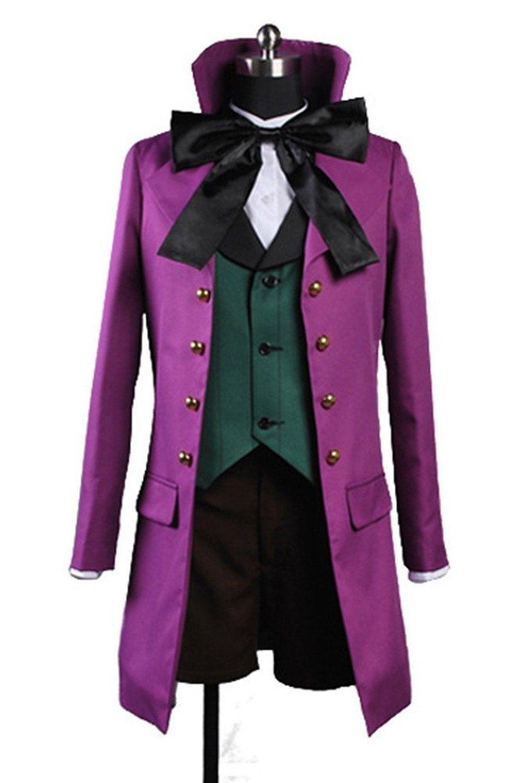Black Butler Kuroshitsuji Alois Trancy Cosplay Costume Custom Made Any Size