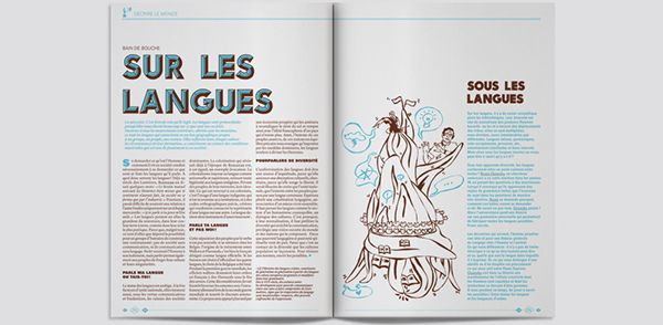 Hiatus, la revue N°4 on Editorial Design Served