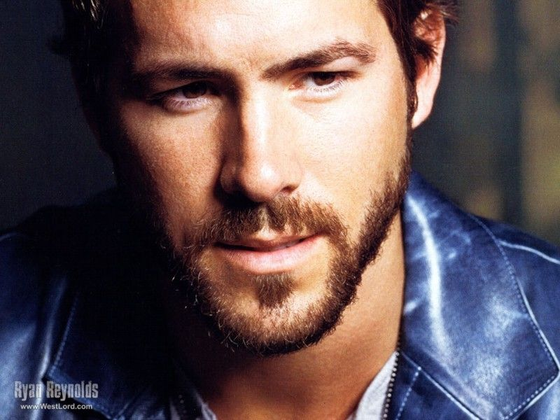 Ryan Reynolds. Both extremely handsome and funny.