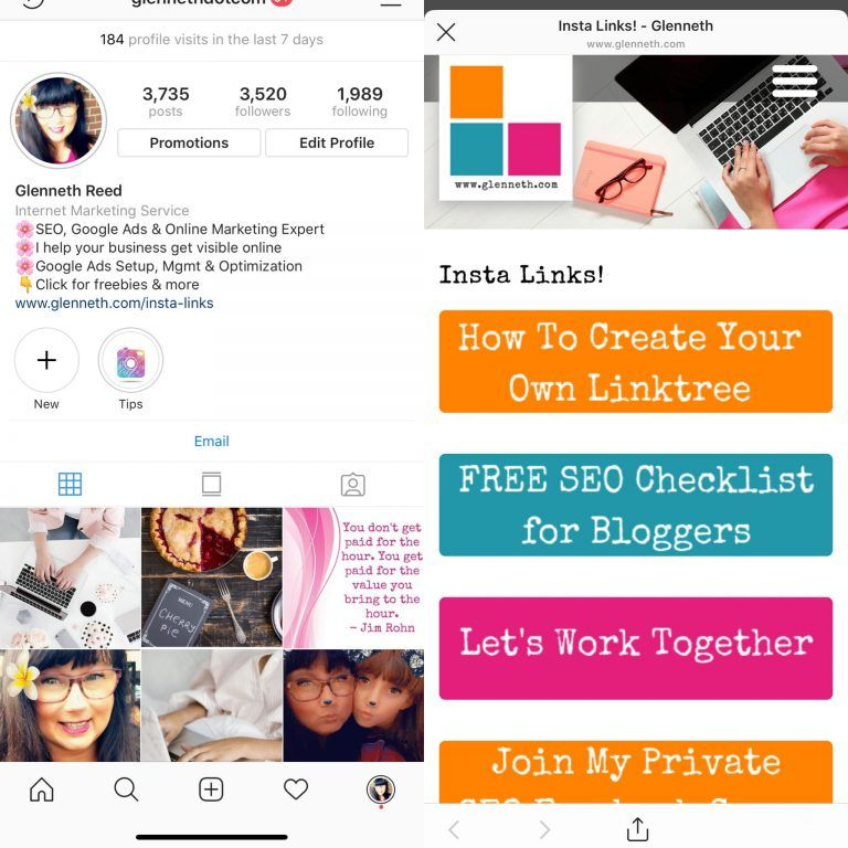 How To Create Your Own Linktree For Instagram Online