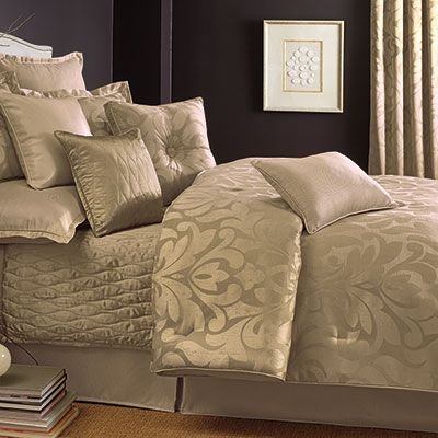 Candice Olson Sweet Dreams Gold Comforter Set Queen set $179.99 King set $199.99