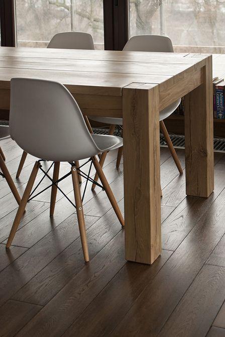 oak table on behance   tables   pinterest   tische, galerien und, Esstisch ideennn