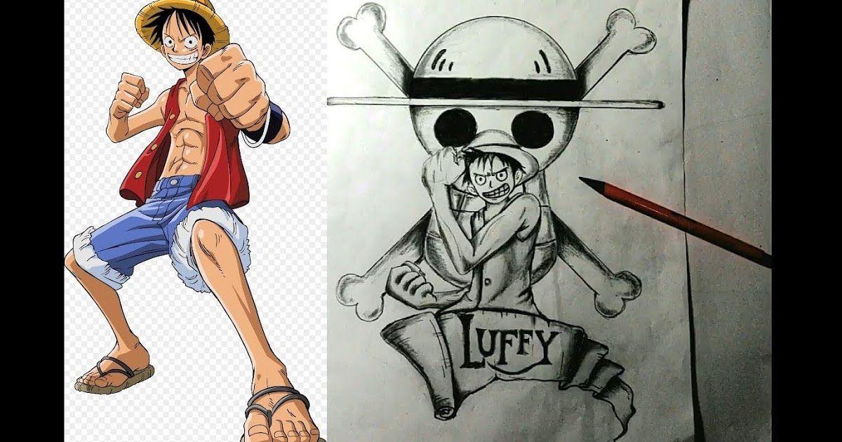 Keren 30 Gambar Anime One Piece Keren Pensil Gambar Mudah Simple Sketsa One Piece Luffy Tutorial Melukis Download One Piece Luffy One Piece Manga Anime One