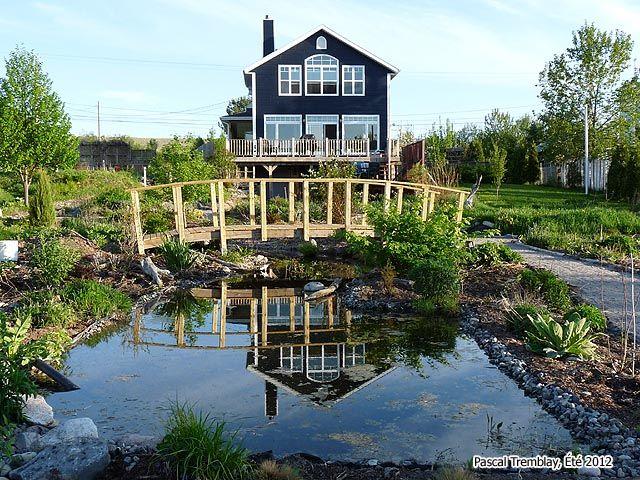 pont en bois pont de jardin pas cher projets essayer pinterest pont de jardin pont en. Black Bedroom Furniture Sets. Home Design Ideas