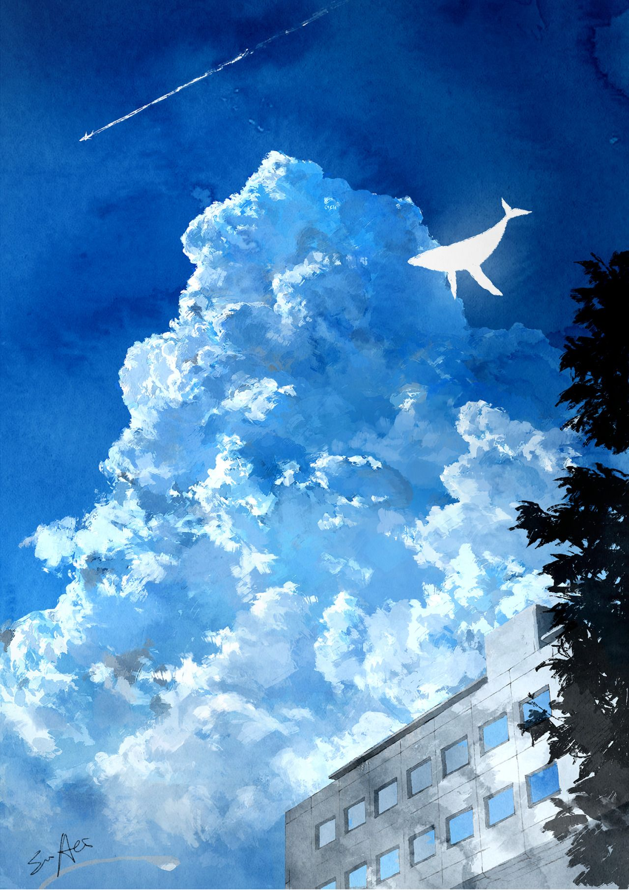 aofuji sui : 画像   綺麗   pinterest   絵、イラスト、插画