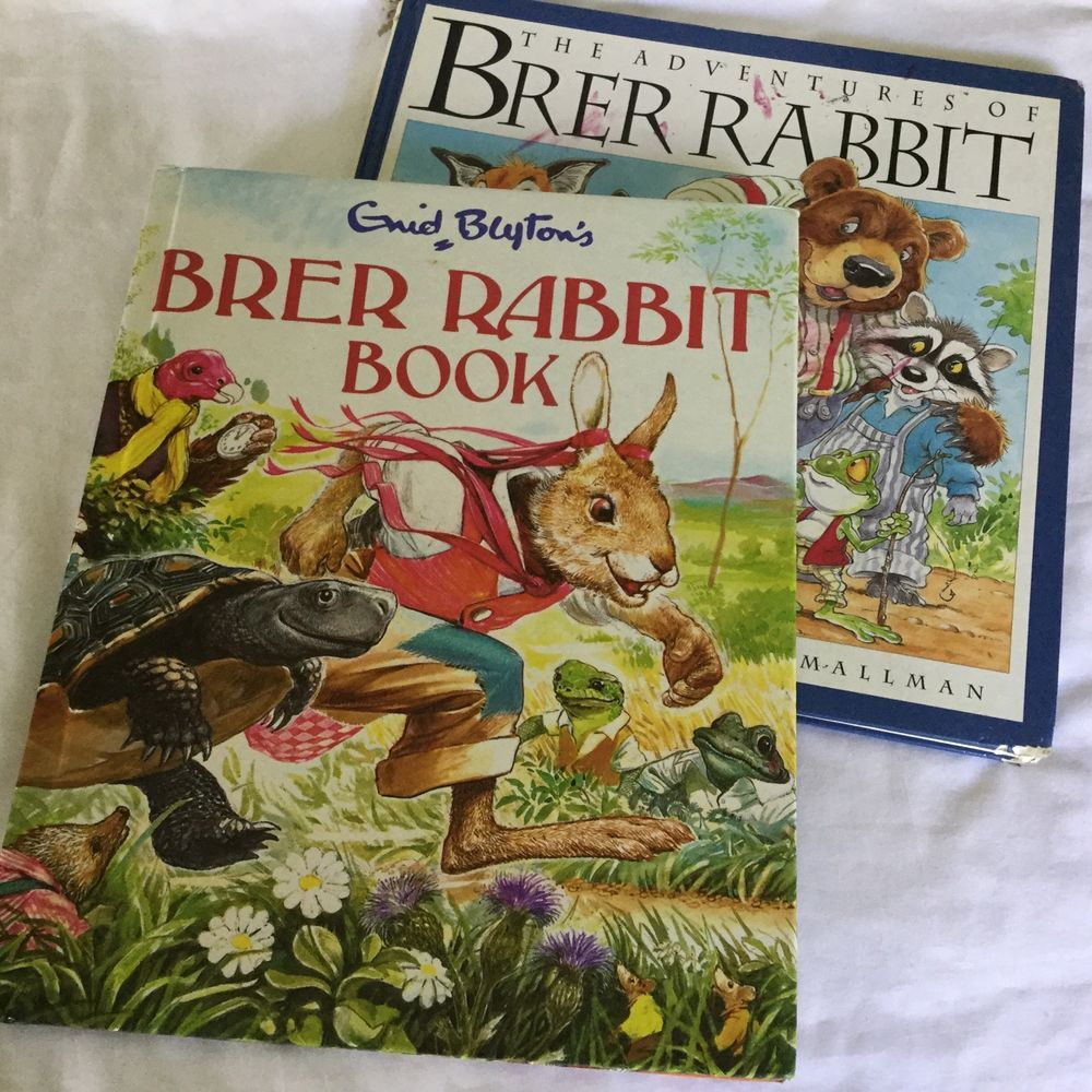 Enid Blyton 039 S Brer Rabbit Book 1984 Optimum Amp Adventures Of Brer Rabbit 1995 Rabbit Book Books Enid Blyton