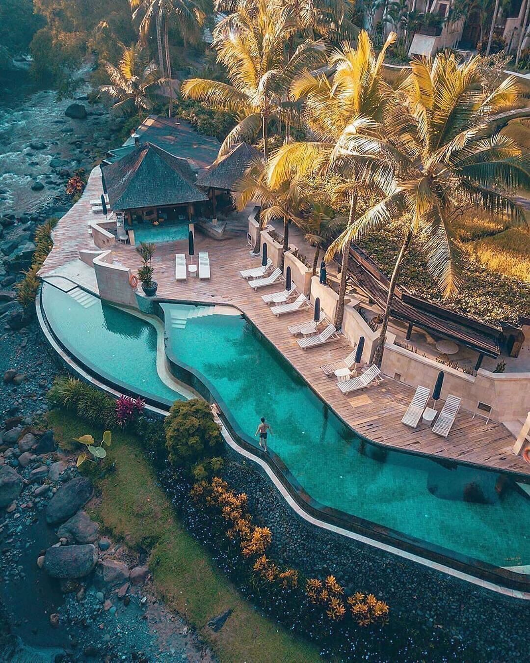 Top 10 Tourist Attraction To Visit In Indonesia Beautiful Hotels Hotel Pool Hotels And Resorts