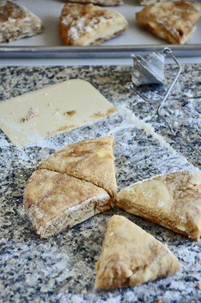 Iced Cinnamon Bun Scones Recipe