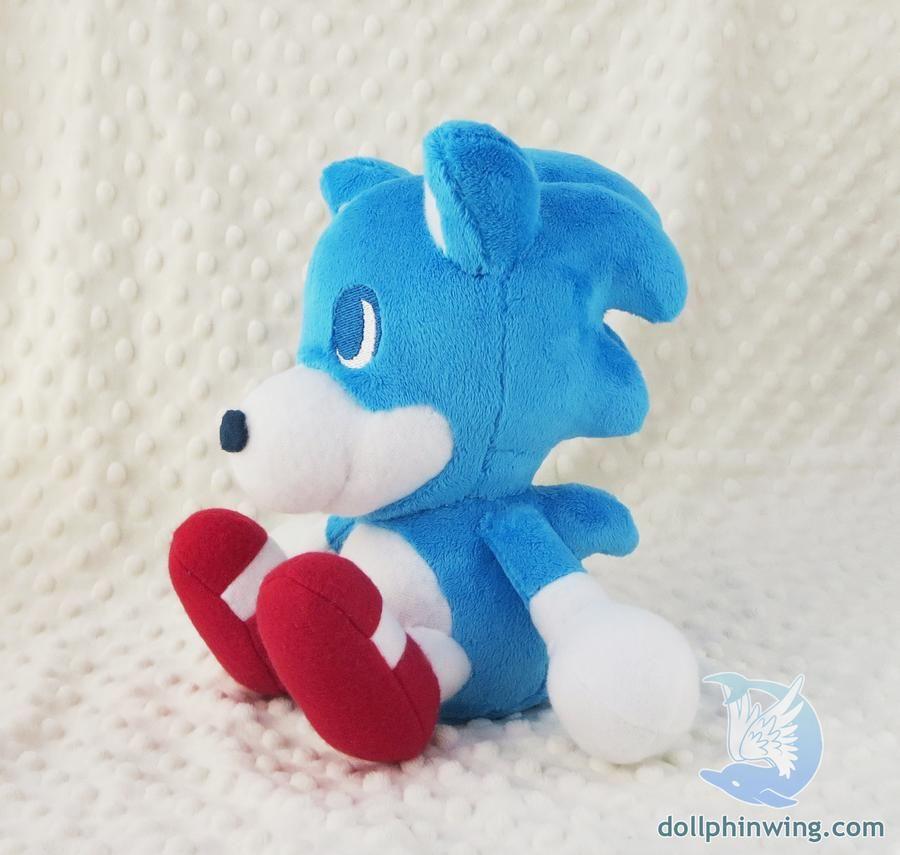 Sonic Movie Old Design Plush