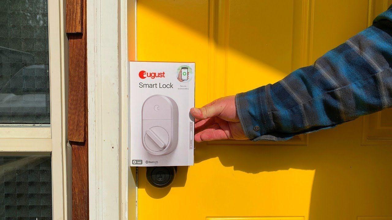 Installing The August Door Lock 1 2 3 Easy August Door Lock Door Locks Smart Lock