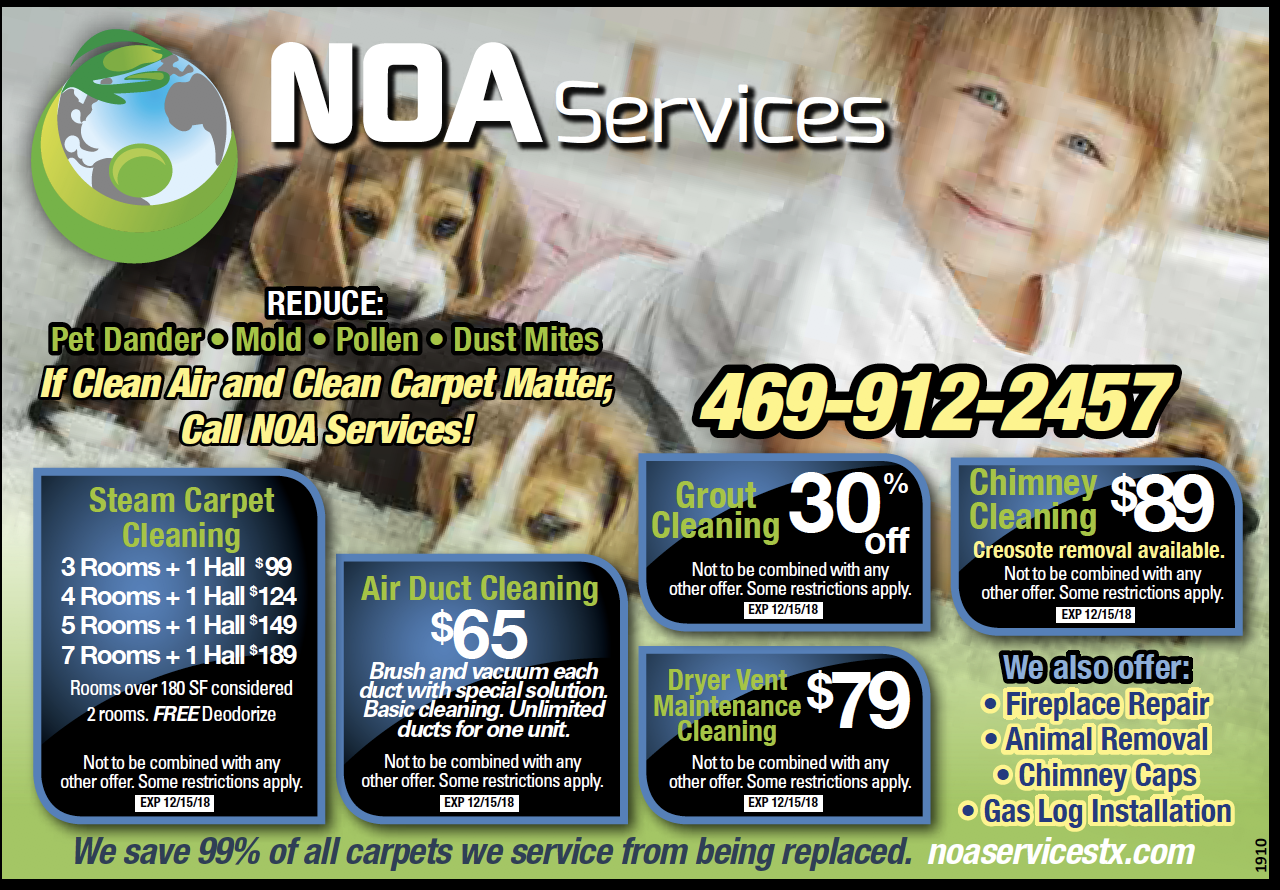 NOA SERVICES How to clean carpet, Clean air ducts, Air duct