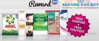 @RewardMe : Get Free samples worth rs 300