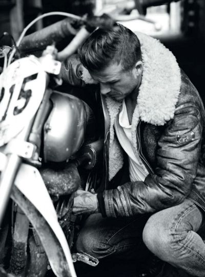 David Beckham for Esquire UK September 2012